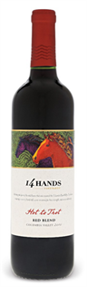 14 Hands Vineyards Hot To Trot Red Blend...